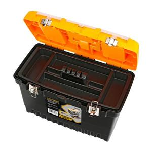 Toolway Jumbo Professional Toolbox - Plastic - 19-in