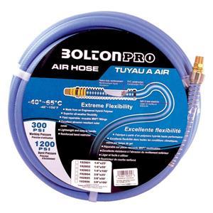 """Bolton Air Toolway PVC Air Hose for compressor - 3/8""""X 50'"""