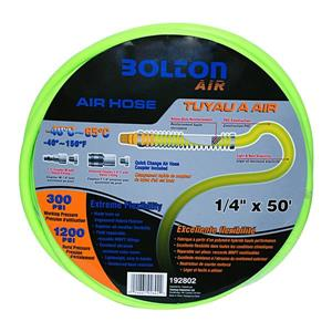 "Bolton Air Toolway Air Hose - Flexible PVC - 1/4""X50'"