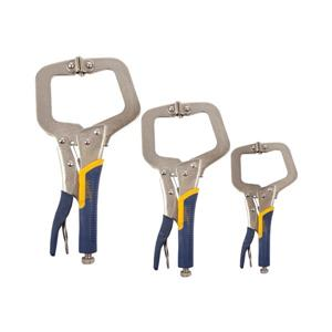 Matrix Toolway Pliers Set Locking Vise-Grip C-Clamp - Package of 3
