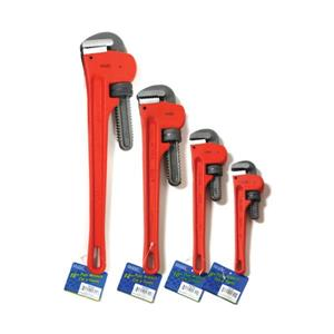 Toolway Pipe Wrench Set (8-10-14-18in) 4-piece