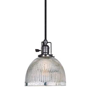 JVI Designs Madison 1-Light Pendant - 69-in - Gun Metal