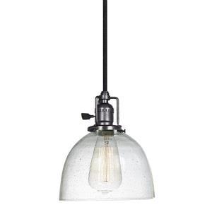 JVI Designs Madison 1-Light Pendant - 7-in x 69-in - Metal