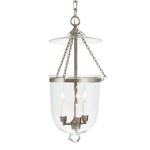 JVI Designs Hundi 3-Light Pendant - 59.5-in - Satin Nickel