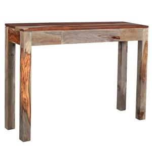!nspire Wood Console Table - 30-in x 42-in - Brown and Grey