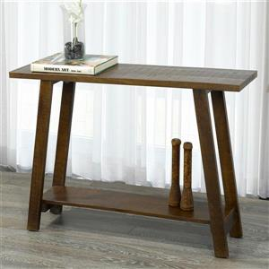 !nspire Console Table - Solid Mango Wood - 42-in x 30-in - Brown