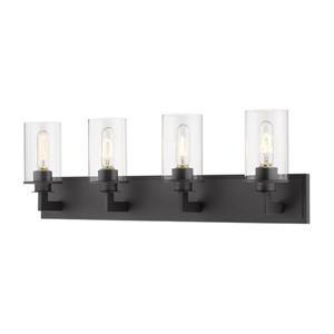 Z-Lite Savannah Modern 4-Light Vanity Light - Bronze