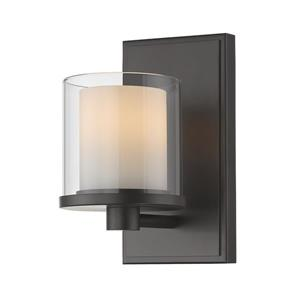 Z-Lite Schema Contemporary 1-Light LED Vanity Light - Bronze