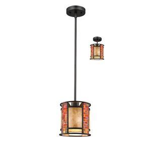 Z-Lite Parkwood 1-Light Mini Pendant Light - Bronze