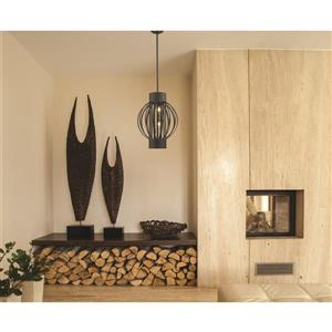 Z-Lite Moundou 4-Light Pendant Light - Bronze