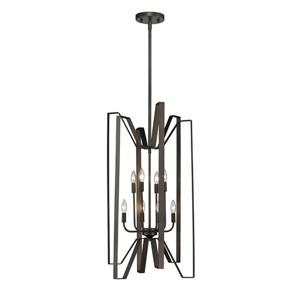 Z-Lite Marsala 8-Light Pendant Light - Bronze