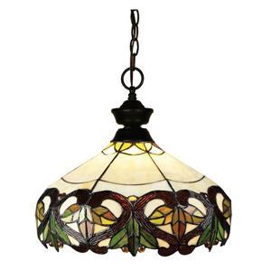 Z-Lite Traditonal 1-Light Pendant Light - Bronze