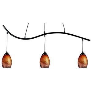 Z-Lite Jazz Nautical 3-Light Billiard Light - Black