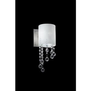 Z-Lite Jewel 1-Light Wall Sconce - Chrome