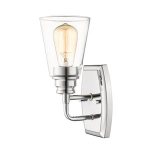 Z-Lite Annora 1-Light Wall Sconce - Chrome