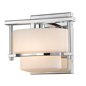 Z-Lite Porter 1-Light Wall Sconce - Chrome