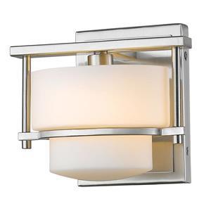 Z-Lite Porter 1-Light Wall Sconce - Brushed Nickel