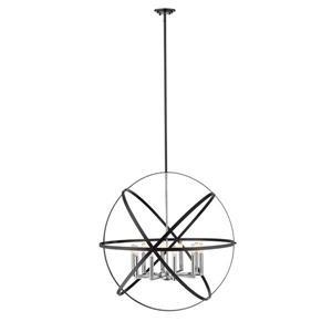 Z-Lite Cavallo 10-Light Pendant - 36-in - Metal - Multicolour