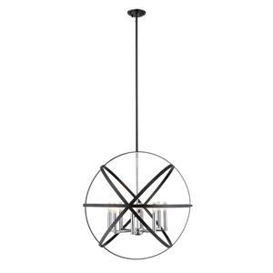 Z-Lite Cavallo 8-Light Pendant - 30-in - Metal - Multicolour