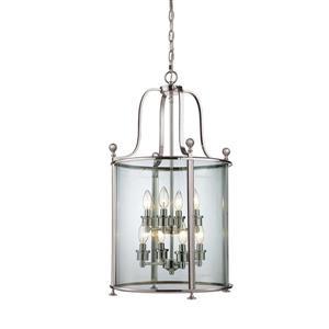 Z-Lite Wyndham 8-Light Pendant - 18-in - Glass - Clear