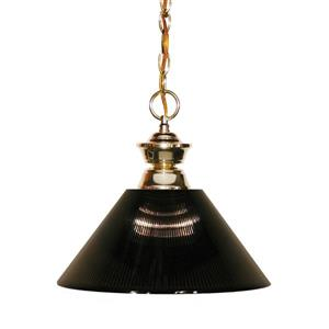 Z-Lite Shark 1-Light Pendant - 14.25-in - Smoke