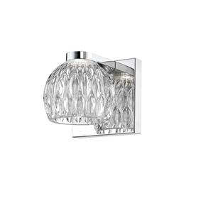 Z-Lite Laurentian 1-Light Wall Sconce - 4.72-in - Steel - Chrome