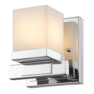 Z-Lite Cadiz 1-Light Wall Sconce - 4.9-in - Steel - Chrome