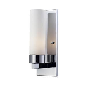 Z-Lite Ibis 1-Light Wall Sconce - 11.75-in - Steel - Chrome