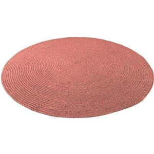 Notre Dame Design Oval Outdoor Rug - 39.3-in- Polypropylene - Peach