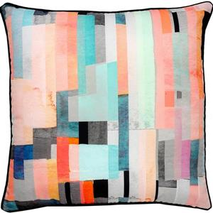 Notre Dame Design Olivera Outdoor Pillow - 22-in- Polyester - Multicolour