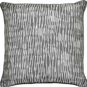 Notre Dame Design Chantilly Outdoor Pillow - 22-in- Polyester - Gray