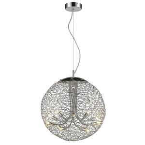 Z-Lite Nabul 8 Light Mini Pendant - Chrome/Sparkling Crystals