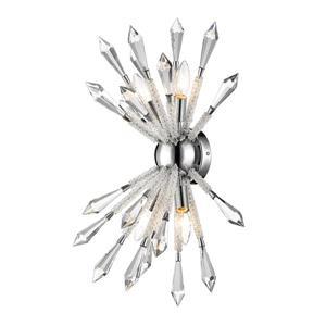Z-Lite Soleia 4 Light Wall Sconce - Chrome