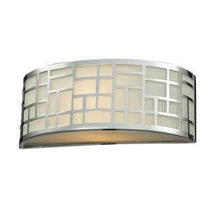 Z-Lite Elea Wall Sconce - 1 Light - Chrome - 3.88-in x  12-in x  4.75-in