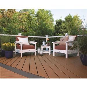 Trex Rockport Outdoor Club Chair - Black