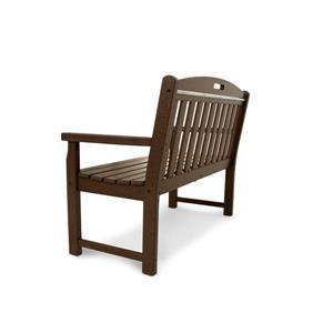 Trex Yacht Club Bench - 48-in - Brown | Lowe's Canada