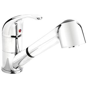 Belanger Kitchen Sink Faucet - Swivel Pull-Out Spout - Chrome