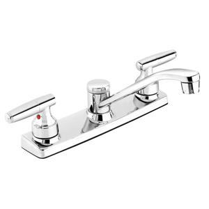 Belanger Kitchen Sink Faucet - Swivel Spout and 2-handle