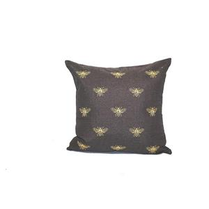 Urban Loft by Westex Bees Decorative Cushion - 20-in x 20-in - Multicoloured