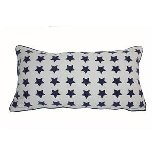 Urban Loft by Westex Stars Decorative Cushion - 14-in x 26-in - Multicoloured