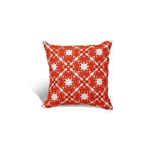 Urban Loft by Westex Morroccan Decorative Cushion - 18-in x 18-in - Orange