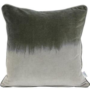 Urban Loft by Westex Velvet 2-Tone Decorative Cushion - 20-in x 20-in x 4-in - Green