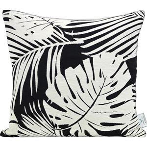 Urban Loft by Westex Fern Decorative Cushion - 20-in x 20-in x 4-in - Black/White