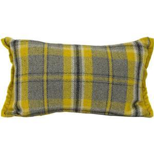 Urban Loft by Westex Plaid Decorative Cushion - 12-in x 20-in - Yellow