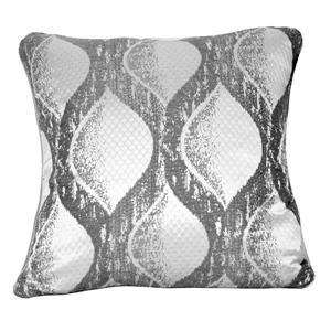 Urban Loft by Westex Siata Decorative Cushion - 20-in x 20-in - Grey