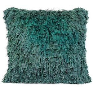 Urban Loft by Westex Shiny Shag Surf Decorative Cushion - 20-in x 20-in - Blue