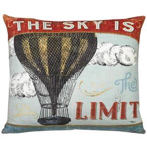 Urban Loft by Westex Wa Sky Limit Decorative Cushion - 20-in x 20-in - Multicoloured