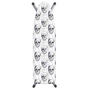 Laundry Solutions by Westex Skulls Ironing Board Cover - 15-in x 54-in - White
