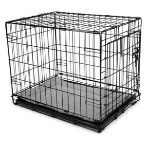 Urban Loft by Westex Dog Crate Mat - 23-in x 14-in x 1-in - Charcoal