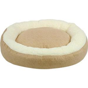 Urban Loft by Westex Oval Donut Dog Bed - 35-in x 27-in x 8-in - Grey